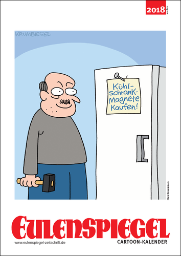 EULENSPIEGELs Cartoon-Kalender 2018