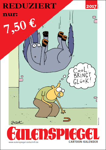 EULENSPIEGEL Cartoon-Kalender 2017